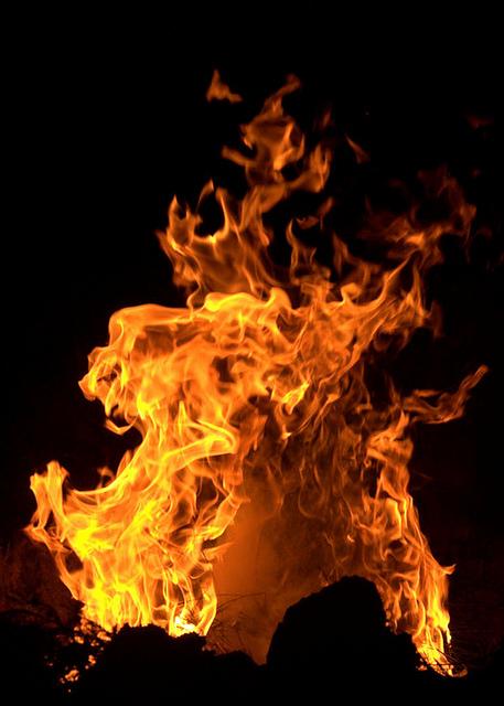 hechizos de fuego